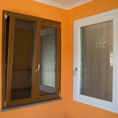 Finestre Alluminio, Legno e PVC
